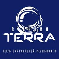 Логотип Vr клуб станция Terra виртуальный клуб Ростов