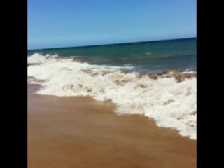 Прогулка по пляжу Маспаломас