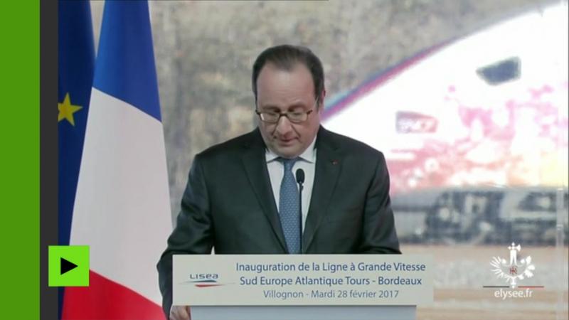 Un tireur délite blesse deux civils par erreur lors dun discours de Hollande en Charente