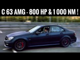 800 сил, 1 000 Нм и 320 км/ч - самый быстрый C 63 AMG! Тест дикого Mercedes'а + поломка + дрифт!)