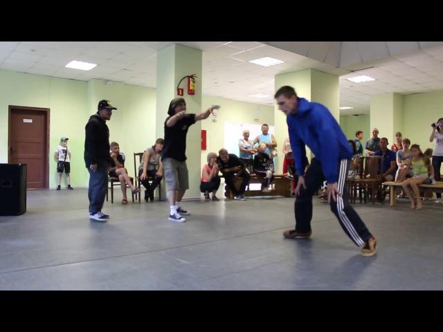 Свои(Suvor-SCB/Demon(Green Dancers) vs B-boy Ded/B-boy Восьмой