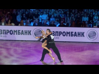 Timur Imametdinov - Nina Bezzubova | Moscow GS LAT 2017 | Final Rumba