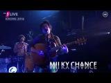 Milky Chance  - Cocoon Live World Premiere (1Live Krone 2016)