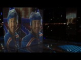 Предматчевое шоу на матче СКА -