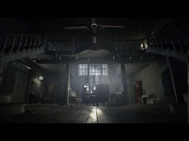 Resident Evil 7 Biohazard Save Room Theme ( With Rain Thunder ) Extended