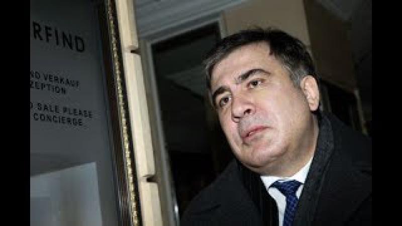 Сторонники Саакашвили разбили палаточный лагерь возле граничного перехода / Но ...