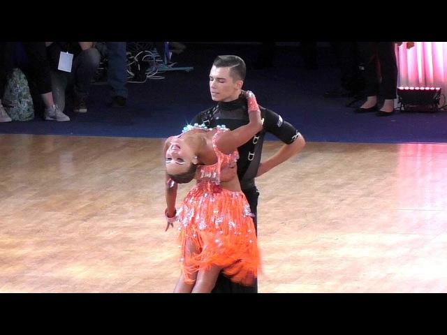 Vladislav Untu Polina Baryshnikova | Rumba | WDSF World Championship Youth 10 Dance Semifinal