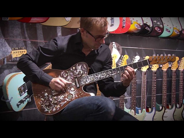 Birdflower Telecaster - The world's most expensive Fender Custom Shop guitar