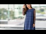 Маленькое платье Триш от PAULINE, решённое в изящной французской стилистике