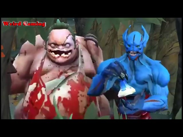 DOTA 2 | PUDGE AND NIGHT STALKER -