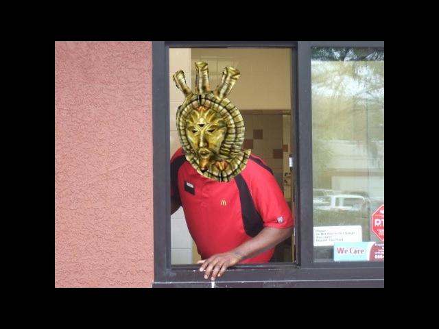 Dagoth Ur at McDonalds