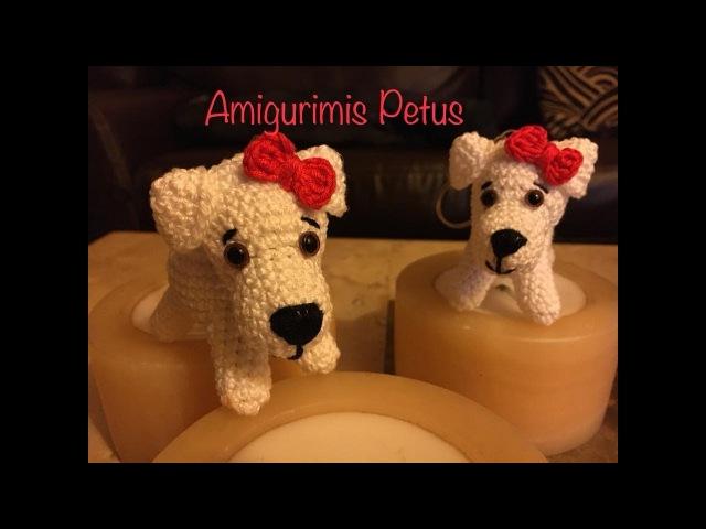 Como tejer cuerpo de la mascota de Muñeca Melany amigurumis Petus 2/2
