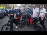 Николай Фоменко - Испытания велосипедов с мотор колесом Дуюнова