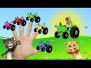Песни для детей - Едет трактор - Кот Том Мой Говорящий Том - Мультик про машинки - С...