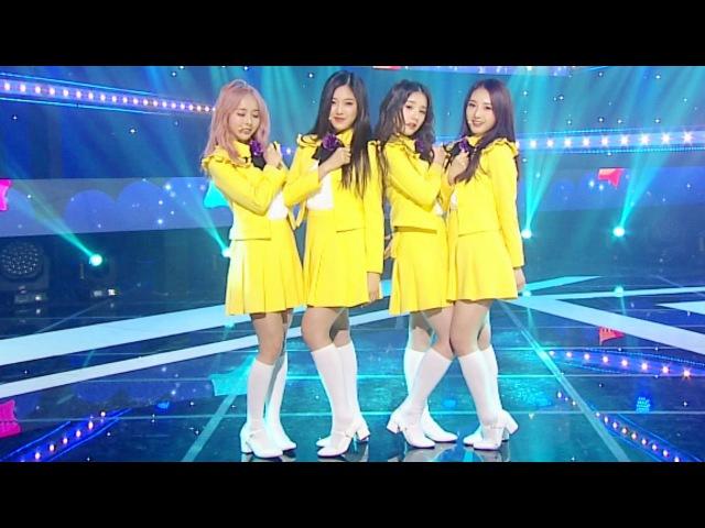 LOOΠΔ 1/3 - LoveLive (지금, 좋아해) @Inkigayo 20170402