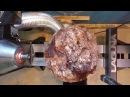 Woodturning Big Cherry Burl Epoxy
