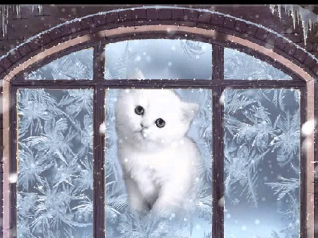 ролик Баулина Николая у тебя на ресницах серебрятся снежинки