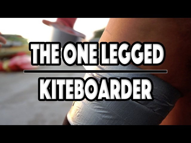 The One Legged Kiteboard Chick Frances Osorio Rivera