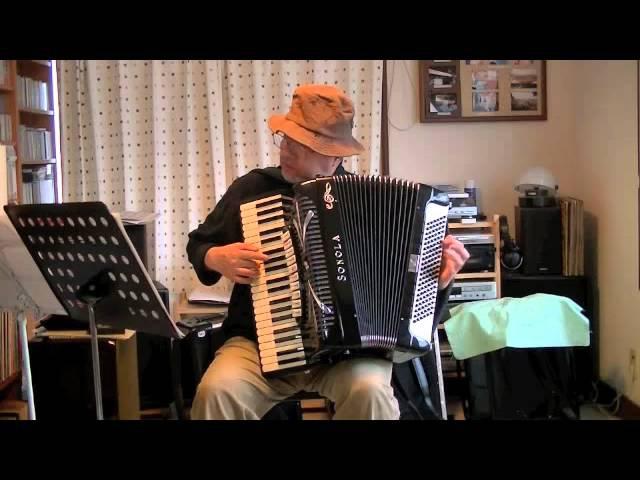 Serenade (La jolie fille de Perth) G. Bizet (小さな木の実)Accordeon Solo Tatsuo Kubo