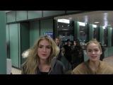 Brighton Sharbino and Saxon Sharbino at Sundance Film Festival at Salt Lake City Airport