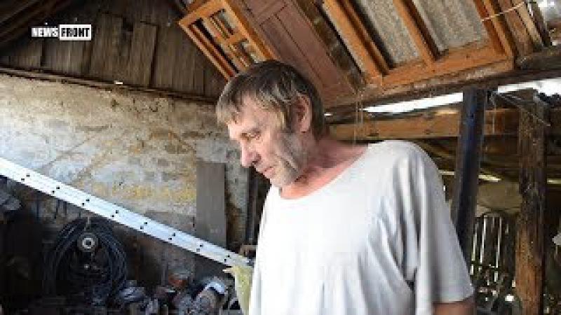 «Реинтеграция по-украински»: Дом дяди Сени из посёлка Зайцево разбит обстрелами...