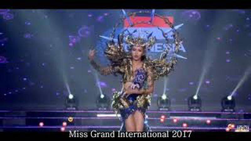 Lah Juri Bengong melihat Penampilan Miss Indonesia di Miss Grand Internasional 2017