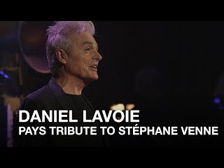 Daniel Lavoie pays tribute to Stéphane Venne | 2017 Canadian Songwriters Hall of Fame