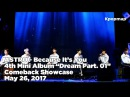INSIDE SHOWCASE 170525 ASTRO 아스트로 Dream Part. 01 Comeback Stage - Because Its You
