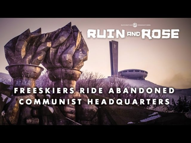 Freeskiers discover abandoned Communist HQ - Full Part from Ruin and Rose - Matchstick Productions
