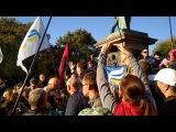 Саакашвили Михаил, митинг в Одессе у памятника Дюку, 30 сентября 2017