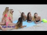 Идеальное лето с подстилкой-антипесок SAND-FREE MAT!