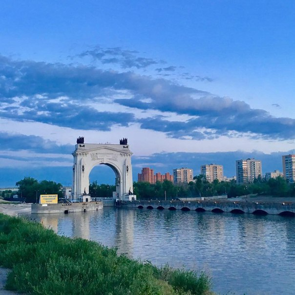 Где в Волгограде лучше всего любоваться закатом?    Фото: dtereshenko