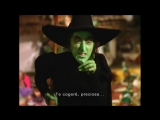 The wonderful wizard of Oz - El mago de Oz making of - El reparto