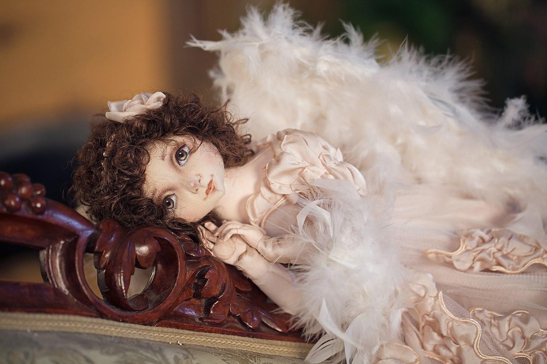 текстильные куклы оксаны цыгановой