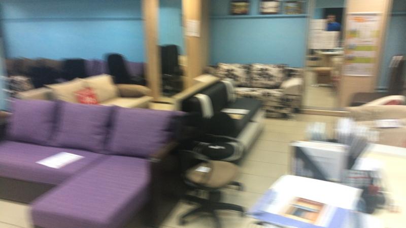 Наличие мебели в зале. Раменское, Коммунистическая, 26а