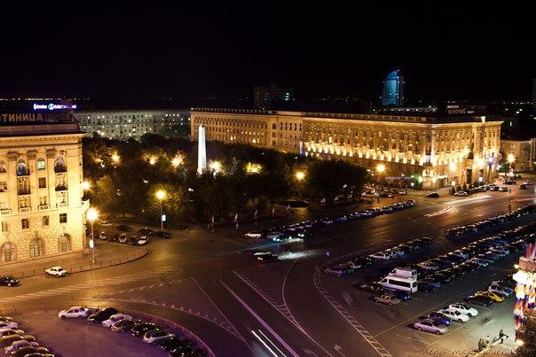 Ночной город прекрасен  Доброй ночи, #Волгоград