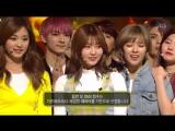 170305 Twice - Knock Knock @ Inkigayo. + Twice занимают первое место на Inkigayo и получают свою шестую награду с Knock Knock.