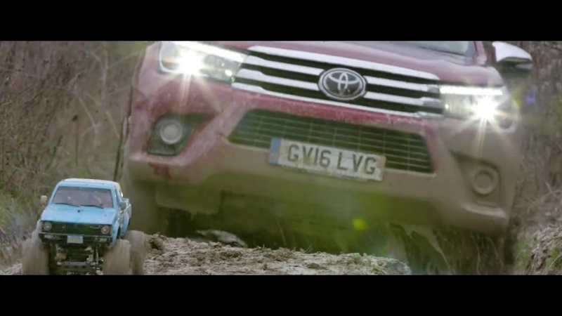 Toyota Hilux: позашляховик, що долає найексрімальніші перешкоди в світі