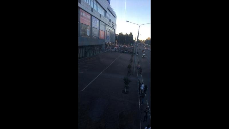 В Грине заложили бомбу