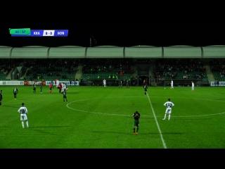 Обзор матча: Юношеская лига УЕФА - U19. 2-й раунд пути чемпионов. 1-й матч. «Краснодар» (Россия) - «Гонвед» (Венгрия) 8:0