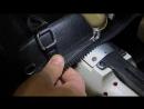 Ремонт сумки, вшивание молнии Трактор ТИП 8 на рукавной машине COWBOY 4500