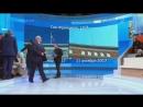 Ведущий Первого канала Шейнин набросился на американца Майкла Бома в прямом эфире