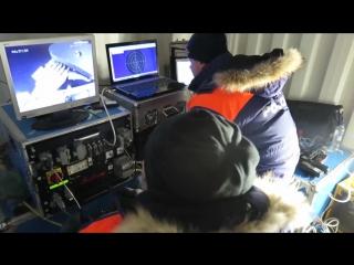 Обследование обломков упавшего в Норвегии Ми-8