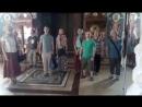Дербеневка в храме монастыря г. Брчко, Республика Српска