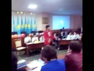Манап Отебаев коледж Канференции зал Нура