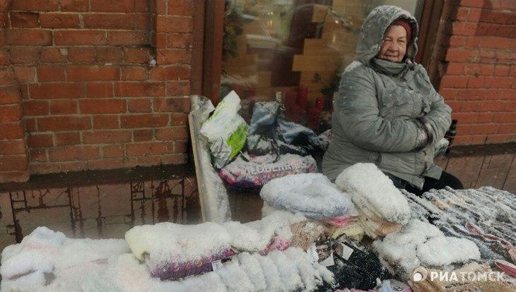 Синоптик: снег в Томске в этом году, скорее всего, уже не растает