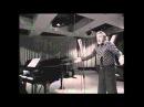 Tenore MARIO DEL MONACO - Pianista ROLANDO NICOLOSI -PUCCINI TOSCA : E LUCEVAN LE STELLE