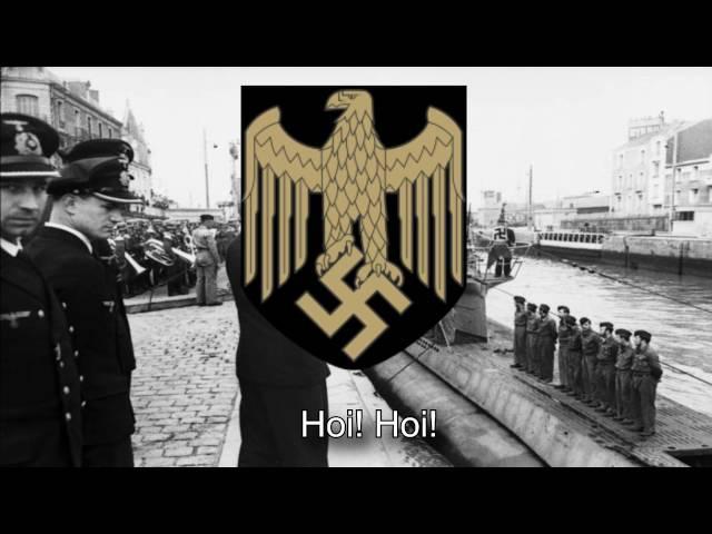 German Kriegsmarine Song - Der mächtigste König im Luftrevier