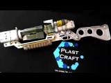Fallout 4 working laser rifle automatic mod prop.