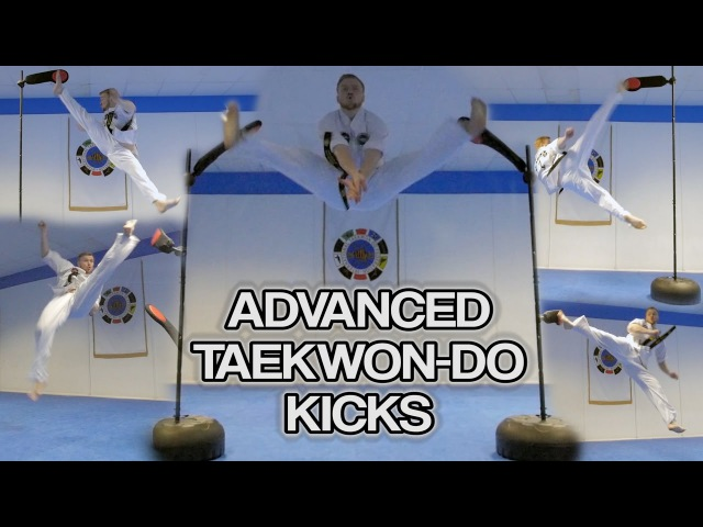 Advanced Martial Arts/Taekwondo Kicks | (Extreme Kicking Flip Kicks too) | GNT